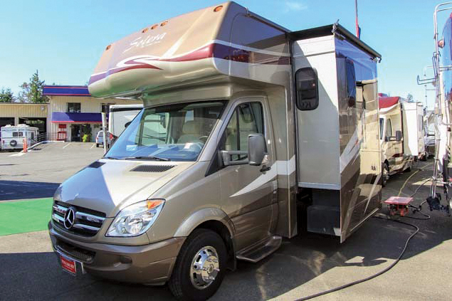 Model Class A MotorHome_____  For Sale In Vancouver
