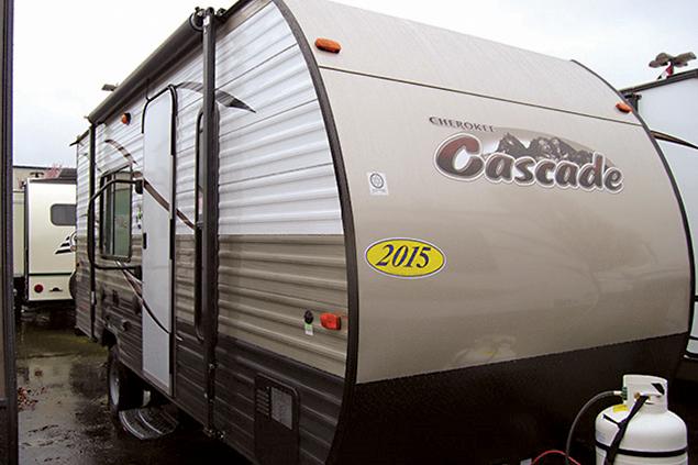 2015 Cascade Lite 16FQC